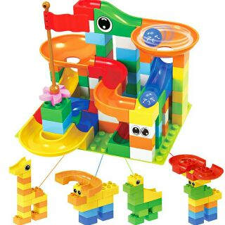 BỘ LEGO SÁNG TẠO – CẦU TRƯỢT THẢ BI (Tương thích duplo)