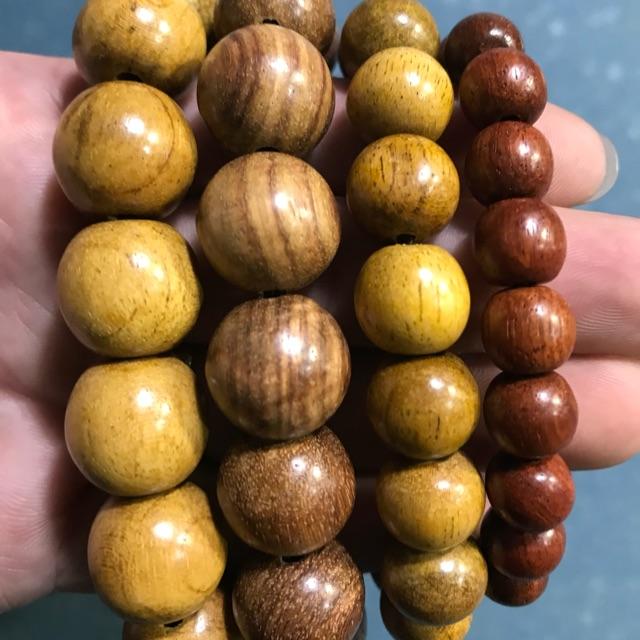 Vòng gỗ đeo tay Bình An, May Mắn