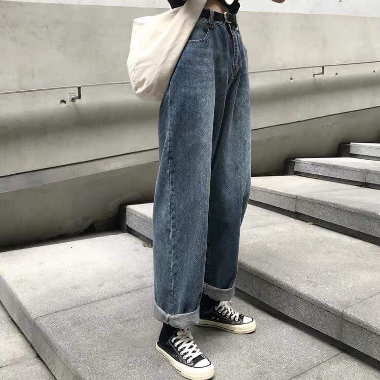 Quần Jeans Ống Rộng SIMPLE JEANS 02 Unisex