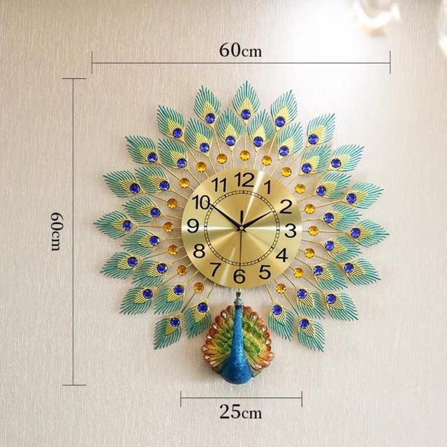 Đồng hồ con công cao cấp (kèm ảnh thật)