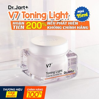 Kem V7 Toning Light Mini (MẪU MỚI) - Kem dưỡng da Chính Hãng Hàn Quốc
