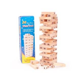 Bộ đồ chơi rút gỗ 54 chi tiết(loại nhỏ) Gsp13