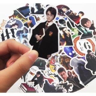 50 Harry Potter Graffiti Cá tính Nhãn dán Vali Hành lý Guitar Xe Sticker Không thấm nước