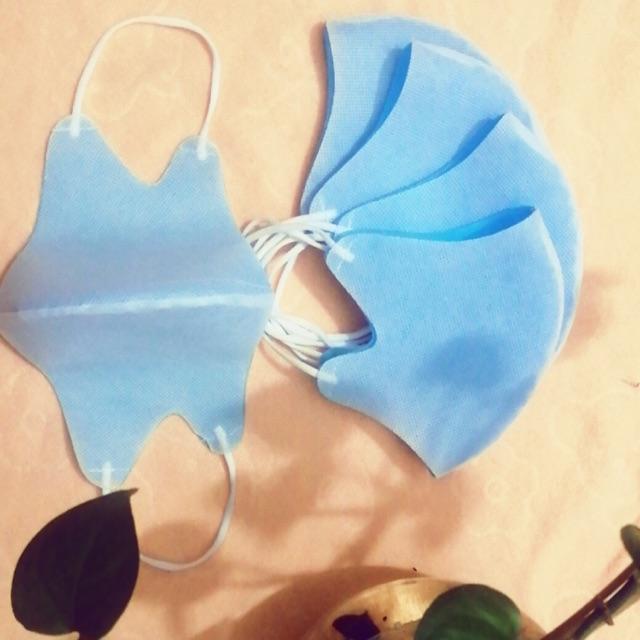 Sét 10c khẩu trang 3D thời trang(freeship đơn 50k) lọc bụi dây chun co giãn đeo thoáng khí