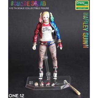 Mô hình có khớp 1:12 Harley Quinn – Suicide Squad