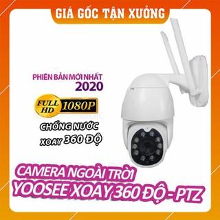 Camera IP Wifi YooSee PTZ chống nước – Full HD 1080p siêu nét – Quay 360 độ