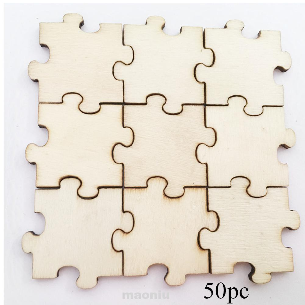 Blank DIY Craft Handmade Scrapbooking Training Wood Slices