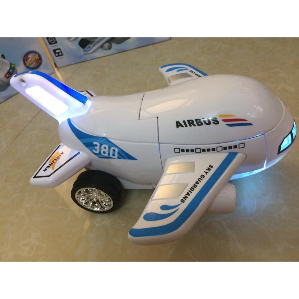 Máy bay biến hình Airbus 380 Đồ chơi trẻ em