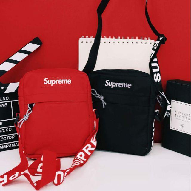 Túi đeo chéo Supreme cá tính - 3127961 , 1166785530 , 322_1166785530 , 150000 , Tui-deo-cheo-Supreme-ca-tinh-322_1166785530 , shopee.vn , Túi đeo chéo Supreme cá tính