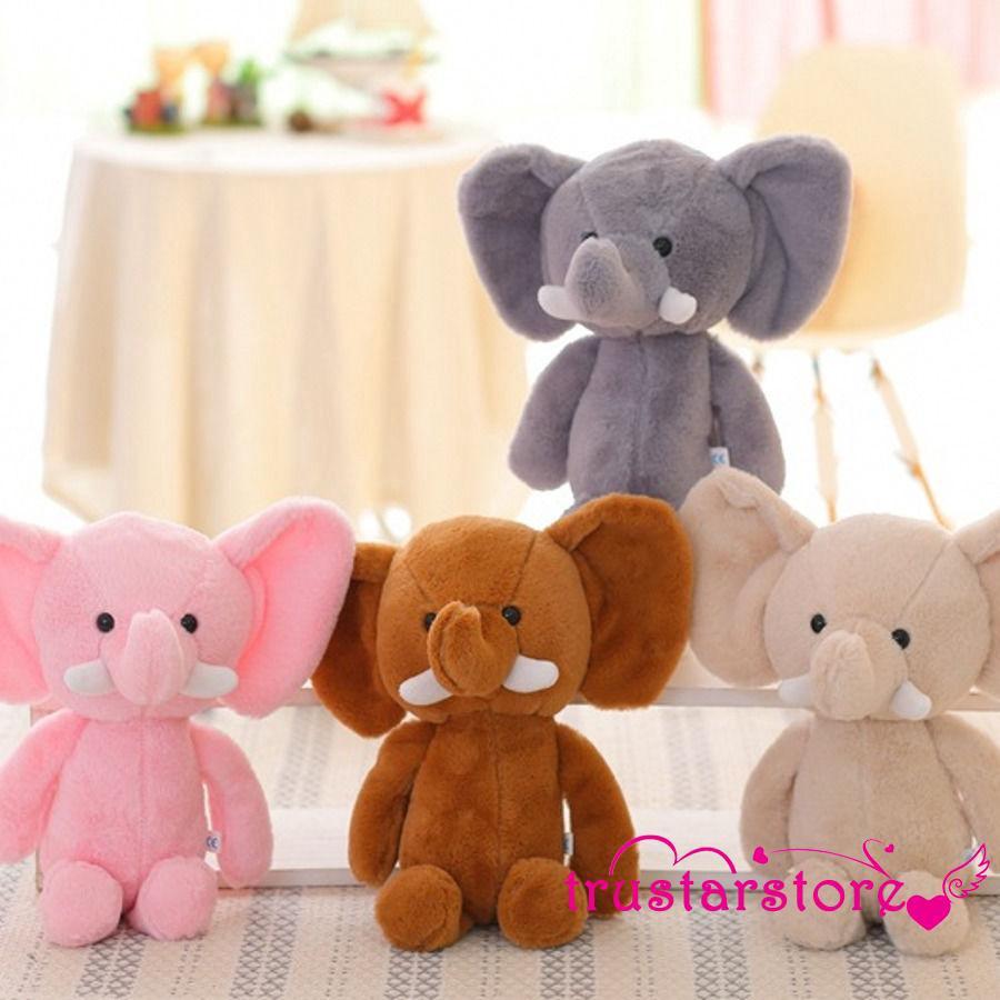 ✦ZWQ-Mini Dễ Thương Đáng Yêu Elephant Thú Nhồi Bông Trẻ Em Bé