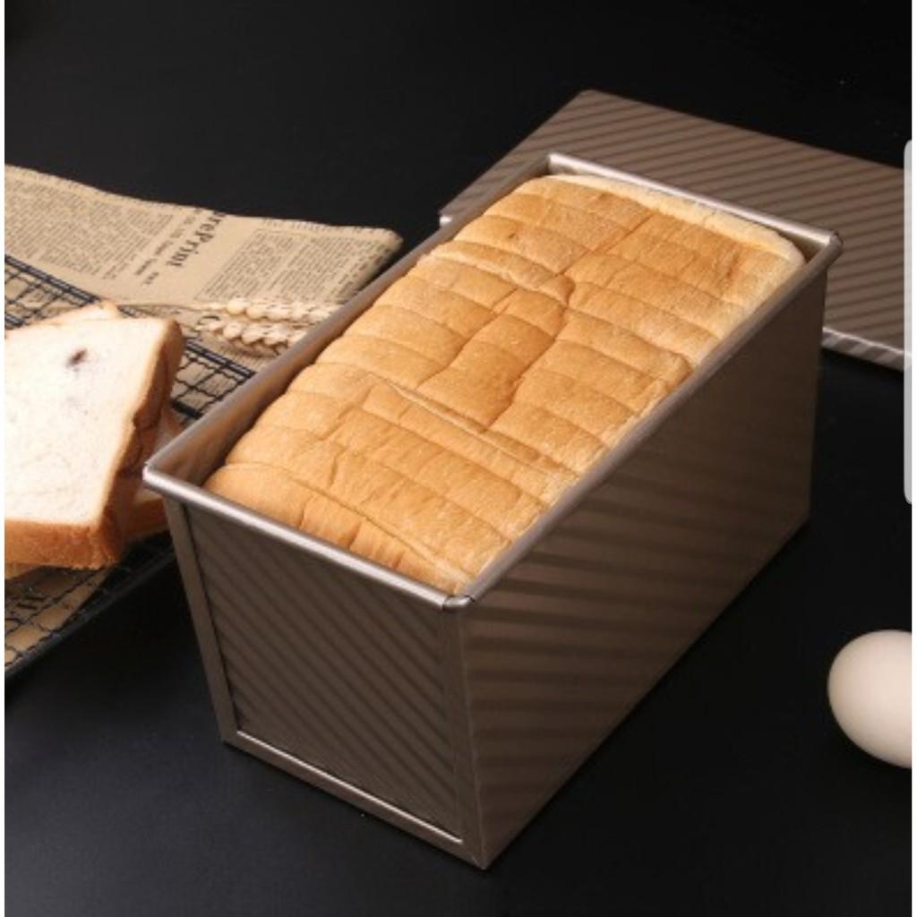 Khuôn bánh mì sanwich hình chữ nhật, bánh mì hoa cúc, bánh gối,..  (Không nắp)