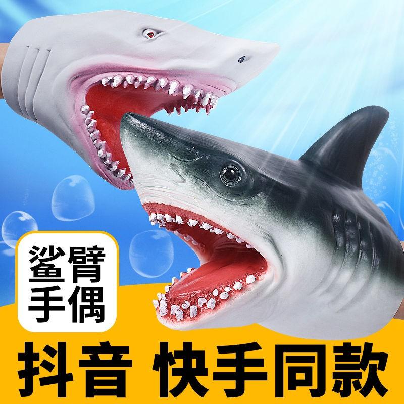 Găng Tay Mô Phỏng Hình Cá Mập Độc Đáo Sáng Tạo