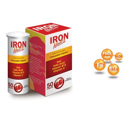Iron melts - viên uống bổ sung sắt,acid folic cho phụ nữ mang thai - 2634185 , 374549333 , 322_374549333 , 245000 , Iron-melts-vien-uong-bo-sung-satacid-folic-cho-phu-nu-mang-thai-322_374549333 , shopee.vn , Iron melts - viên uống bổ sung sắt,acid folic cho phụ nữ mang thai