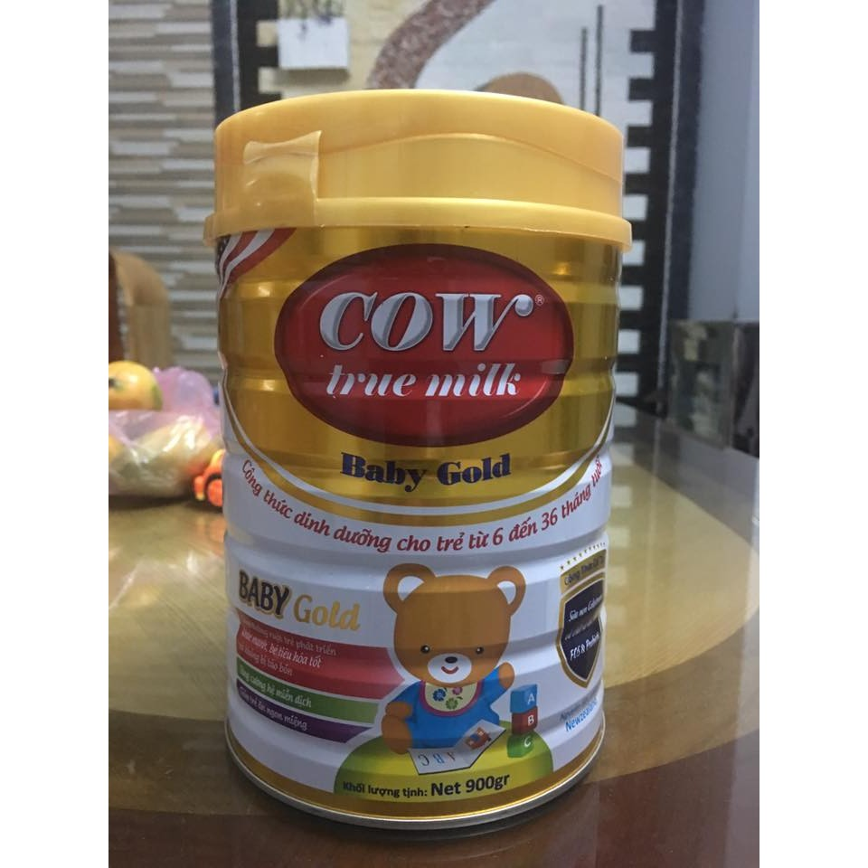 SỮA BABY GOLD COW TRUE MILK (6-36 THÁNG) 900G - 2973806 , 228650322 , 322_228650322 , 350000 , SUA-BABY-GOLD-COW-TRUE-MILK-6-36-THANG-900G-322_228650322 , shopee.vn , SỮA BABY GOLD COW TRUE MILK (6-36 THÁNG) 900G