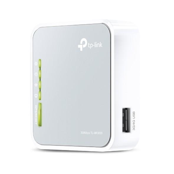 (Rẻ Vô Địch) TP-Link TL-MR3020 Router Wi-Fi Di Động Chuẩn N 3G/4G Tốc Độ Cao