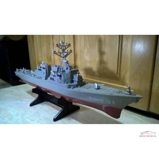 Mô hình đồ chơi quân sự Tàu Khu Trục Arleigh Burke Mỹ – 1:350