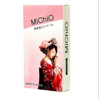 Bao cao su Michio Nhật bản hộp 12 chiếc thumbnail