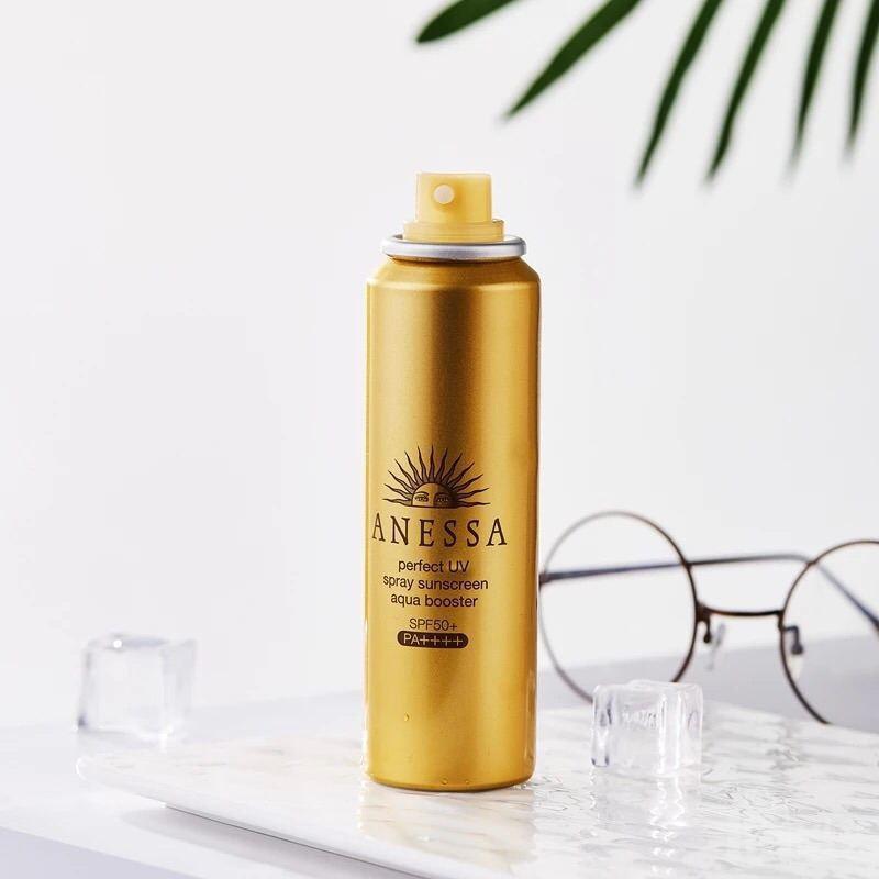 Chống nắng dạng xịt Anessa Perfect UV Spray Sunscreen Aqua Booster - 13676934 , 1388255396 , 322_1388255396 , 539000 , Chong-nang-dang-xit-Anessa-Perfect-UV-Spray-Sunscreen-Aqua-Booster-322_1388255396 , shopee.vn , Chống nắng dạng xịt Anessa Perfect UV Spray Sunscreen Aqua Booster