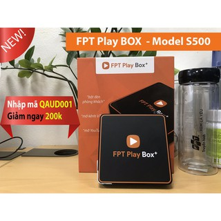 Tivi BOX FPT play S500 - Chính hãng - nhập mã QAUD001 để được giảm 200k