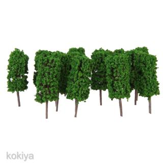 50 Model Trees 3.5cm Train Architecture Street Garden Wargame Scenery Layout