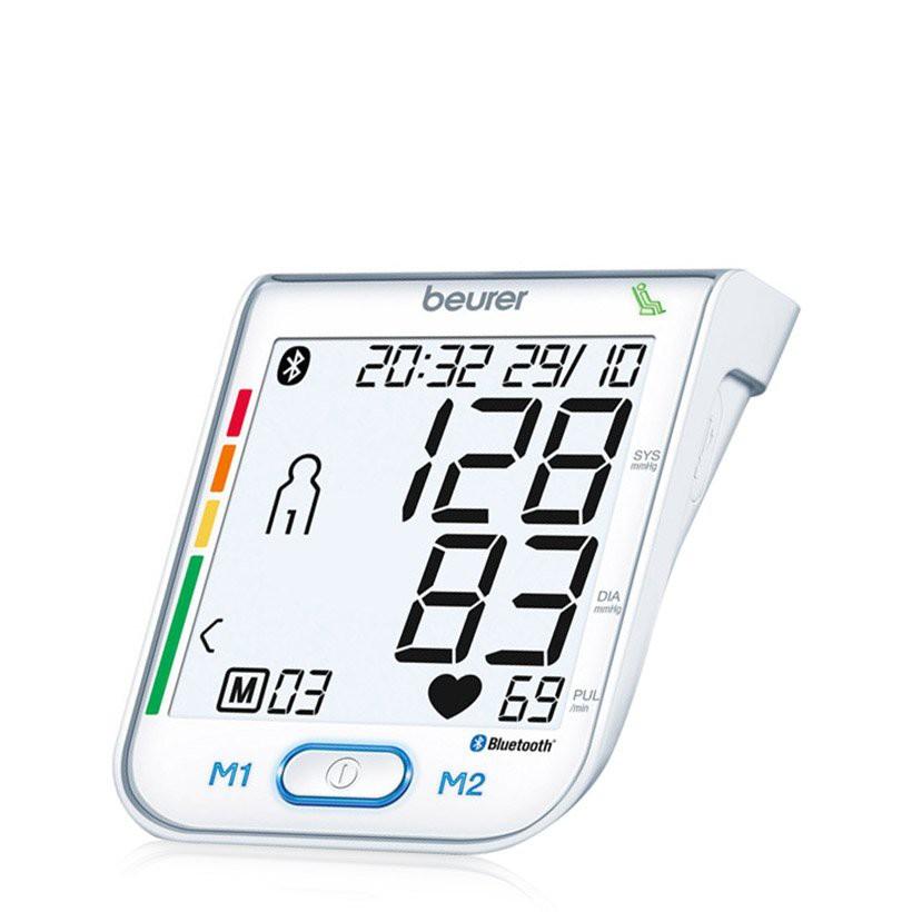 Máy đo huyết áp bắp tay kết nối Beurer BM77