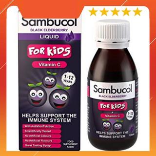 Vitamin Sambucol - Vitamin tăng đề kháng cho bé