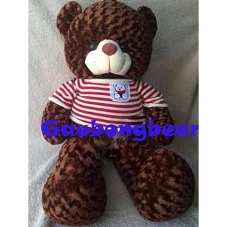 Gấu bông Teddy Cao Cấp khổ vải 1m Cao 80m màu Nâu hàng VNXK