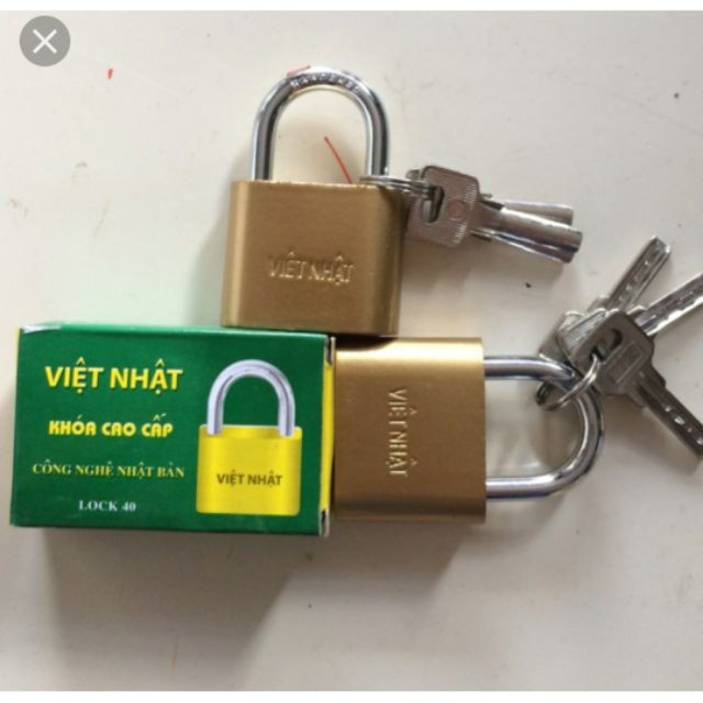 5 ổ khoá Việt Nhật lock 40 Ổ khóa, chốt, chặn cửa