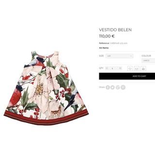 Đầm xuất hiệu Ý xuất xịn cho bé gái