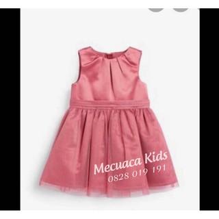 Váy voan hồng next xuất dư xịn
