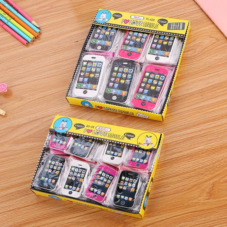 Tẩy Iphone nhỏ 5,5 * 3cm nguồn hàng buôn sỉ