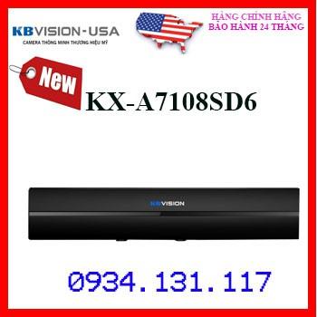 Đầu ghi hình 8 kênh 5 in 1 KBVISION KX-A7108SD6 (thay thế KX-7108SD6)