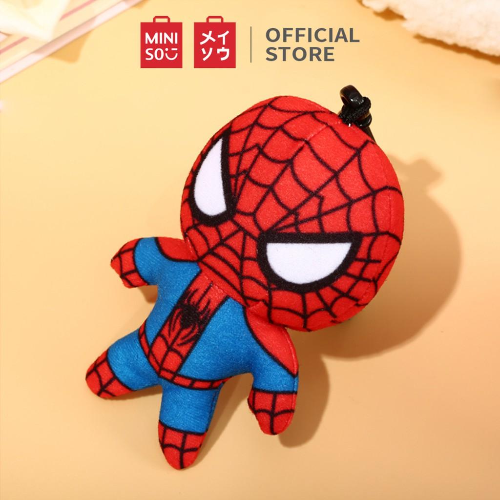 Móc khóa Miniso hình Spider-man Marvel (Đỏ) - Hàng chính