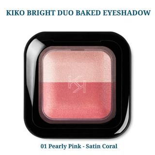 Phâ n mă t Kiko Bright Duo Baked Eyeshadow 2.5g thumbnail