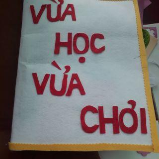 Sách vải kỹ năng cho trẻ mầm non