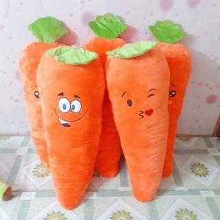 Cà rốt nhồi bông 1m1 chuẩn size 100%
