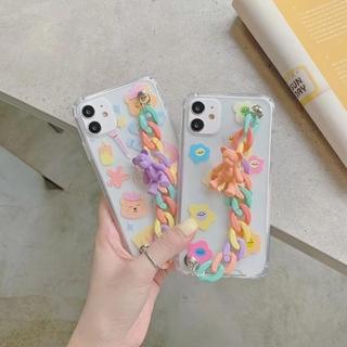 Ốp lưng Chống Sốc Dễ Thương Cho Iphone 11 8 Xr 11 Pro Xs Max X 8 7 6s Plus