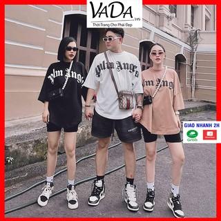 Set bộ unisex tay lỡ (CÓ BÁN RỜI) áo from rộng hàn quốc phối quần sọc thun cotton nhập cao cấp - Thời Trang VADA (S95) thumbnail
