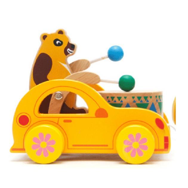 [FREE SHIP] Đồ chơi xe gấu đánh trống cho bé