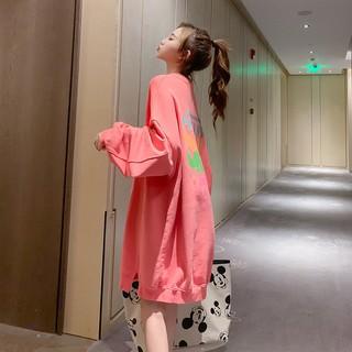 Áo sweater form rộng phong cách hàn quốc cho nữ