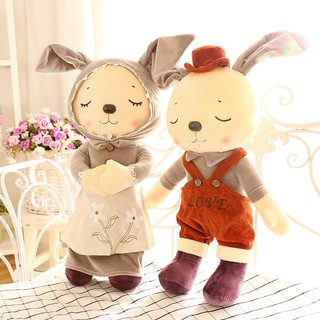 【Mickcool】 Soft toy Pillow child hairy rabbit gift fashion Fluff toys