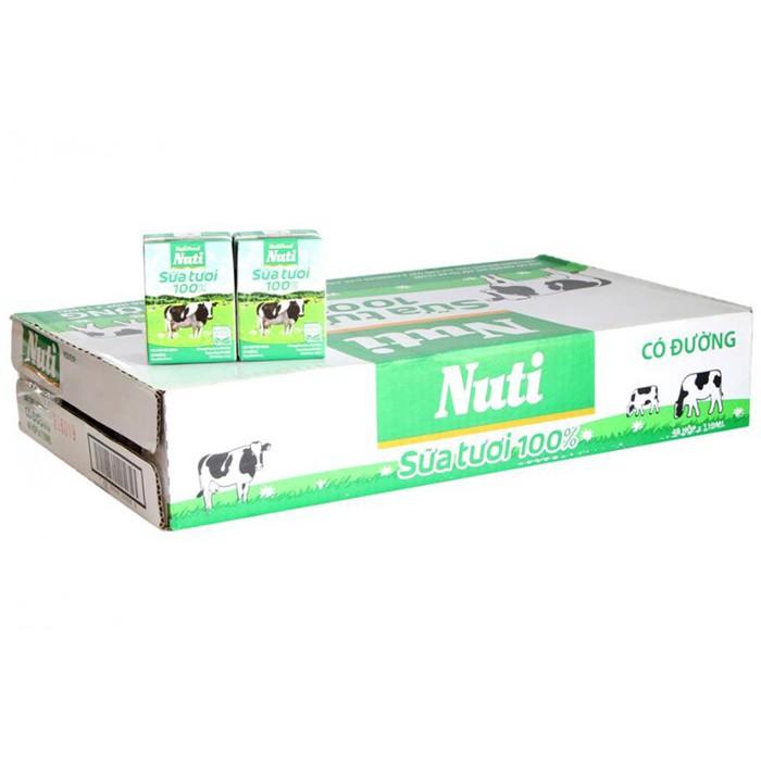 Sữa tươi tiệt trùng Nutifood 110ml
