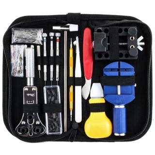 SUPB☀147Pcs Watch Repair Tool Kit Case Opener Link Spring Bar Remover Watchmaker Tool