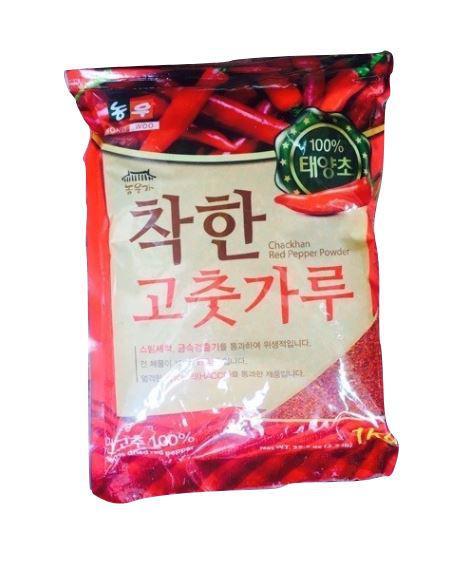 ớt bột hàn quốc làm kim chi 1kg loại vẩy