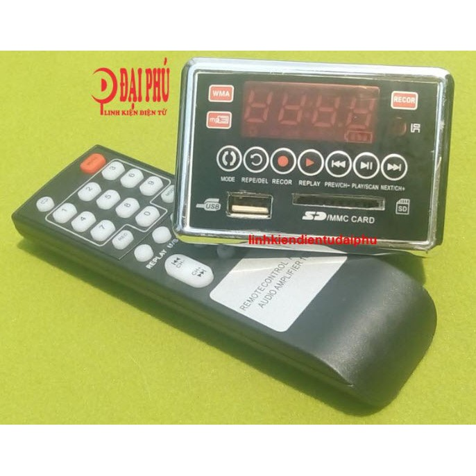 Mp3 bluetooth cho loa kéo MP3-2207 kèm remote - 3095448 , 1088509840 , 322_1088509840 , 300000 , Mp3-bluetooth-cho-loa-keo-MP3-2207-kem-remote-322_1088509840 , shopee.vn , Mp3 bluetooth cho loa kéo MP3-2207 kèm remote