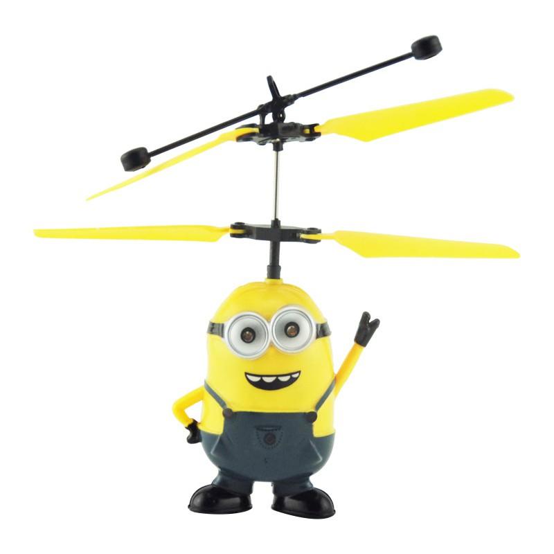 Máy bay Minion đồ chơi phát sáng chạy bằng pin cho bé