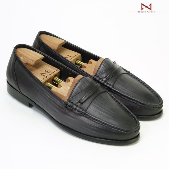 Giày Âu Thủ Công Zenlee patina - Mã:LPD01