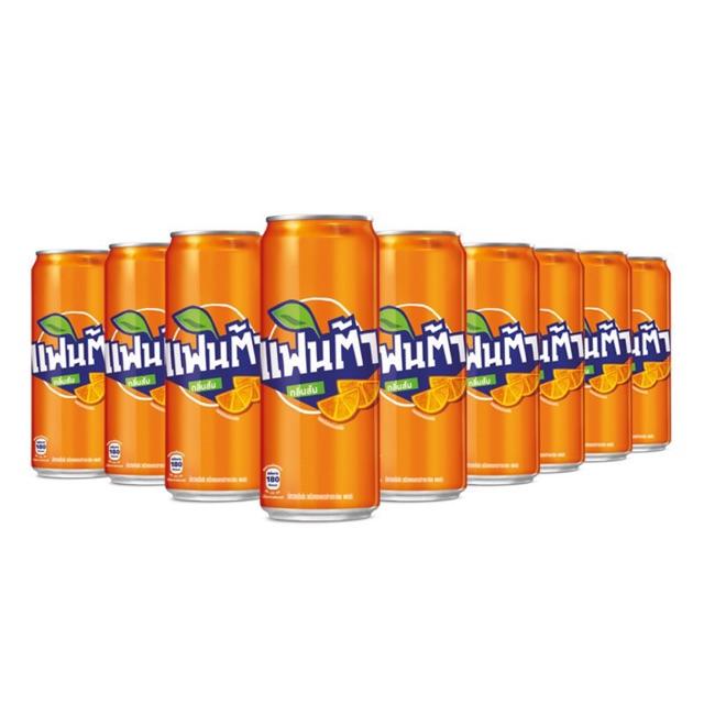 พร้อมส่ง ของถูก!! Coca cola fantaกระป๋องน้ำส้ม จำกัด1แพค/ออเดอร์นะคะ สนใจสามารถทักมาสอบถามก่อนได้ค่ะ