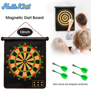 HelloKimi Bảng phi tiêu Magnetic Dart Board Dart Game for Kids Family Game Indoor Outdoor Games Sport Leisure Board Games Backyard Games with 4 or 6 Magnetic Darts thumbnail