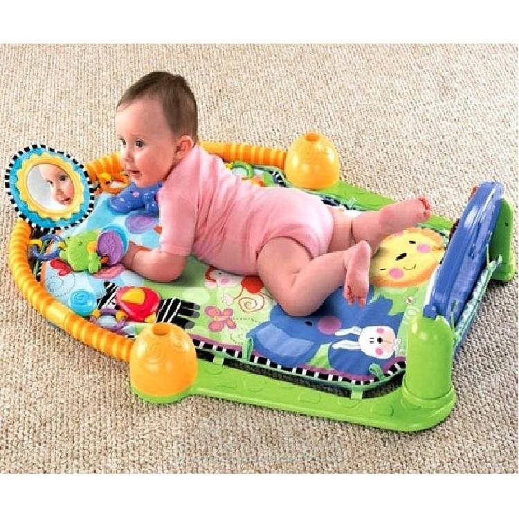Thảm nằm chơi cho bé có đàn Piano Baby Intelligent Baby
